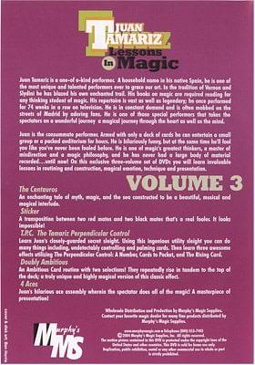 Lessons in Magic Volume 3