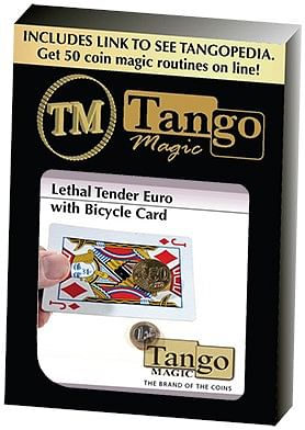 Lethal Tender Euro with Bicycle Card - magic