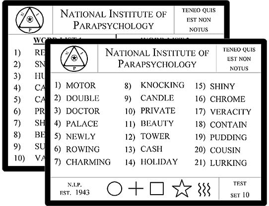 Lexicology 2.0 with Telepathy card