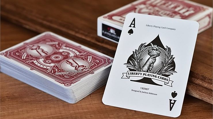 Liberty Playing Cards (Blue)