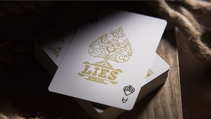 Lies Playing Cards - The First Casuality Is Truth