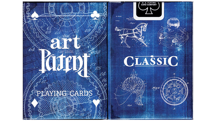 Limited Edition Art of the Classic Patent Playing Cards - magic