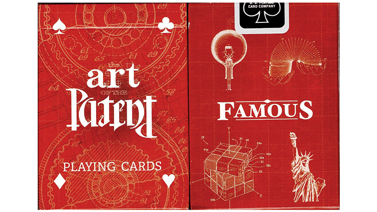 Limited Edition Art of the Famous Patent Playing Cards - magic