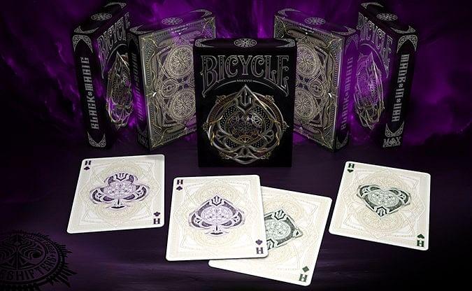 Bicycle Black Magic Playing Cards