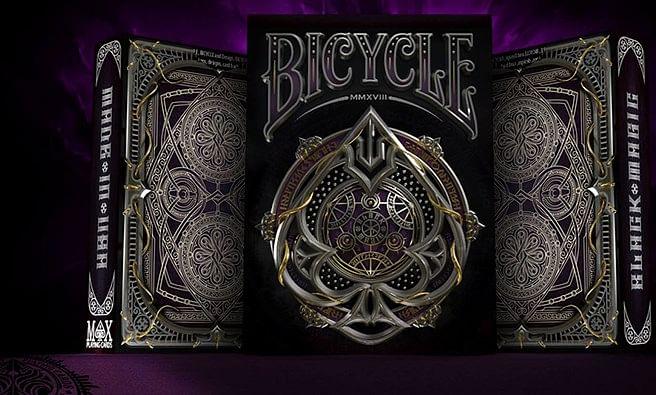 Bicycle Black Magic Playing Cards - magic