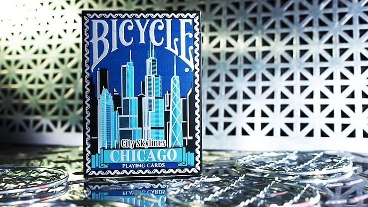 Bicycle City Skylines New York City Playing Cards - magic