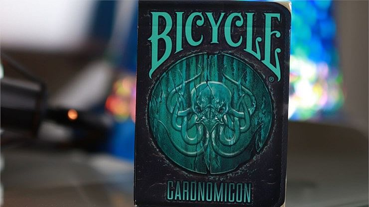 Bicycle Cthulhu Cardnomicon Playing Cards - magic
