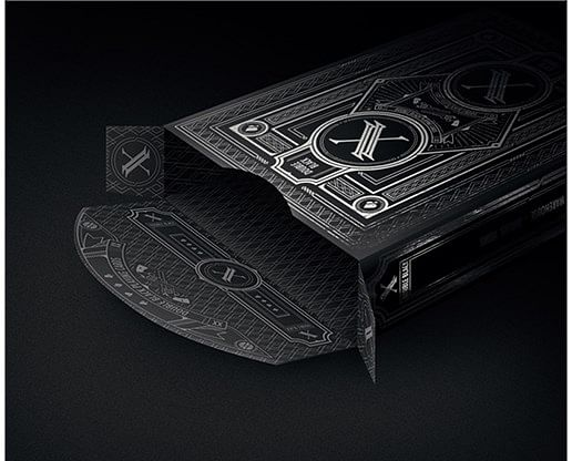 (Limited Edition) Bicycle Double Black Playing Cards — Series 2