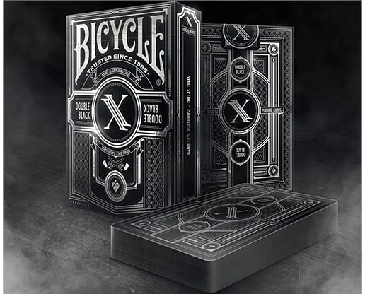 (Limited Edition) Bicycle Double Black Playing Cards — Series 2 - magic