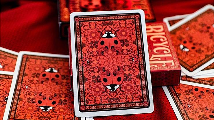 Bicycle Ladybug Playing Cards
