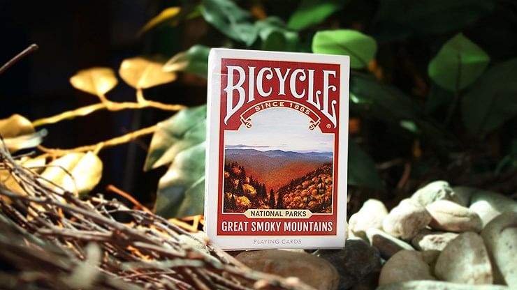 """Bicycle National Parks  Playing Cards - """"Great Smoky Mountains"""" - magic"""