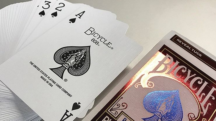 Limited Edition Bicycle Reveal Playing Cards