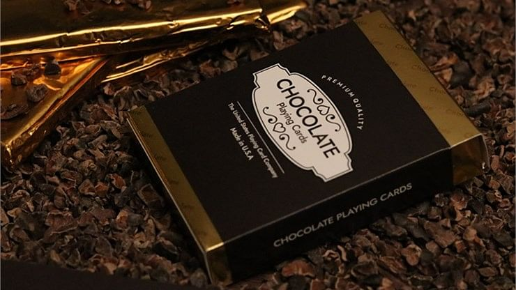 Limited Edition Chocolate Playing Cards - magic
