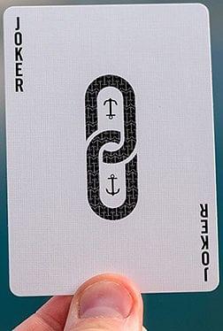 False Anchors Playing Cards