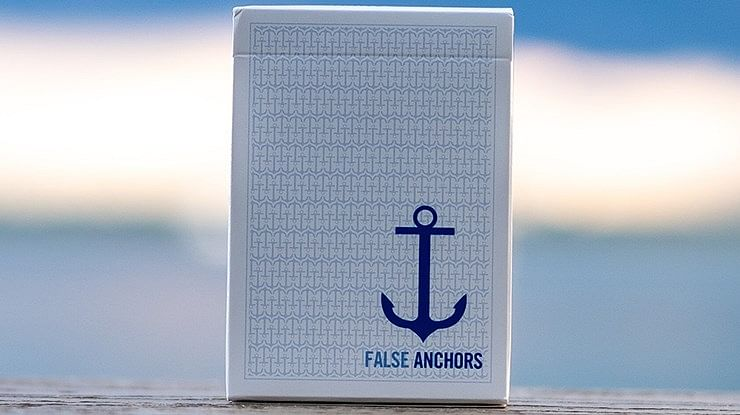 False Anchors Playing Cards - magic