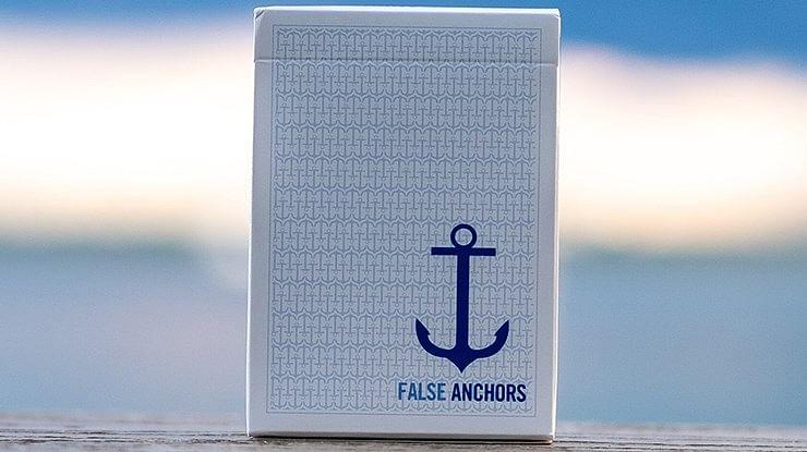 False Anchors Playing Cards - magic
