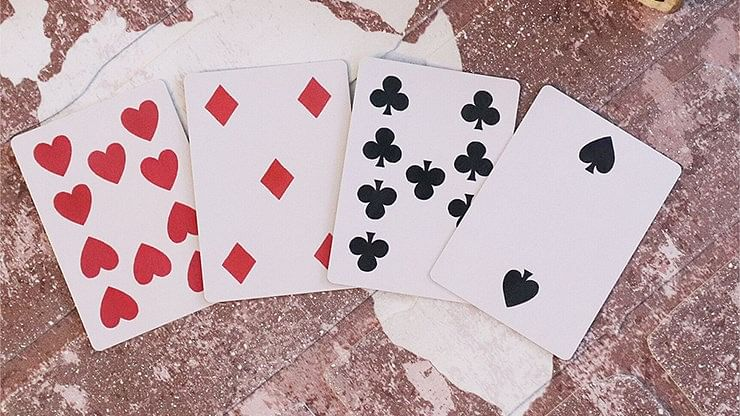 Faro Vintage Reproduction Prototype Playing Cards MPC