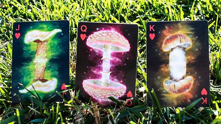Fungi Mystic Mushrooms Playing Cards