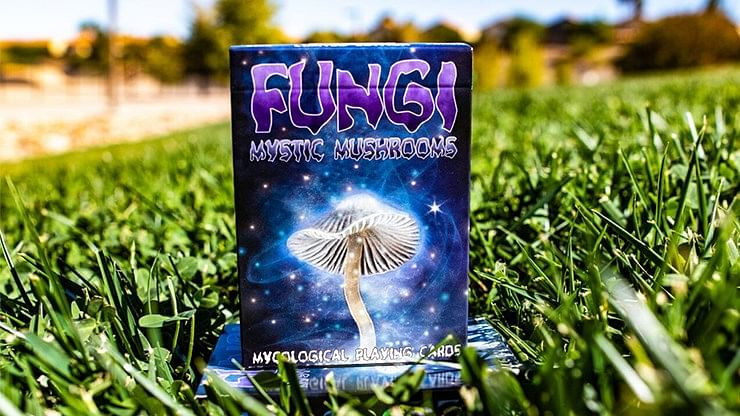 Fungi Mystic Mushrooms Playing Cards - magic