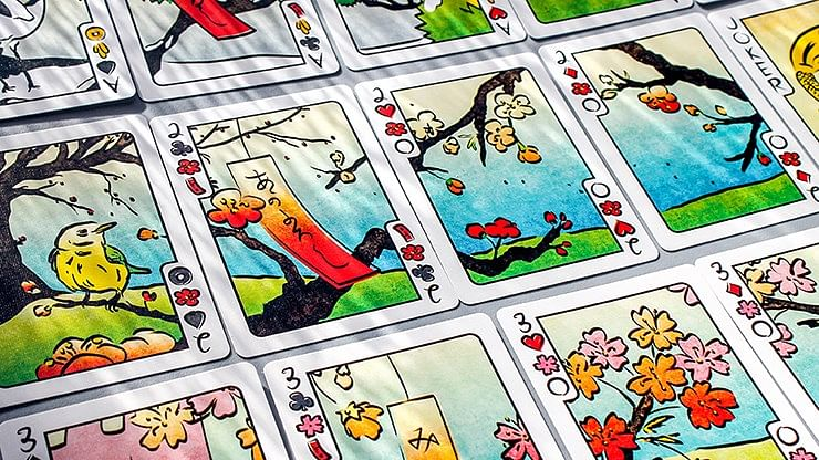 Hanami Fusion Playing Cards
