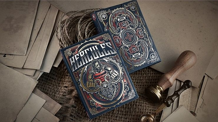 Limited Edition Hercules Playing Cards - magic