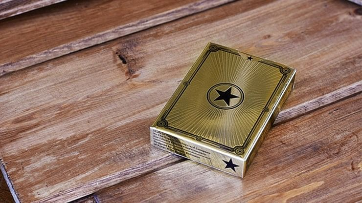 Limited Edition Gold Liberty Playing Cards