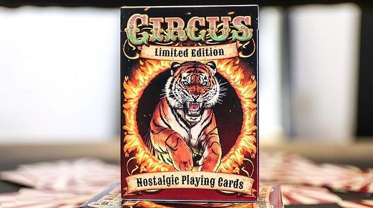 Nostalgic Circus Playing Cards - magic