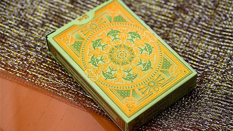 Limited Edition Olive Tally Ho Playing Cards