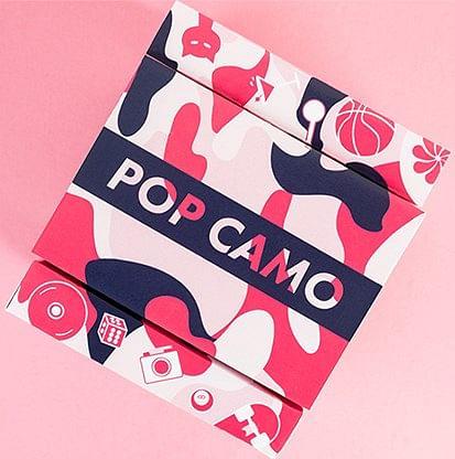 POP CAMO Playing Cards - magic
