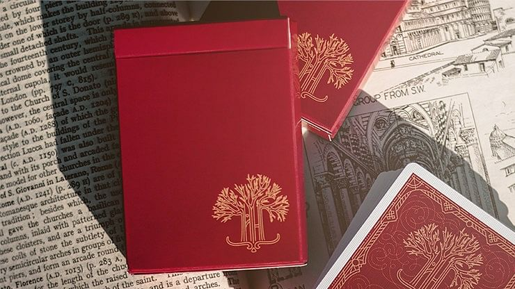 Scarlet Philtre Playing Cards - magic