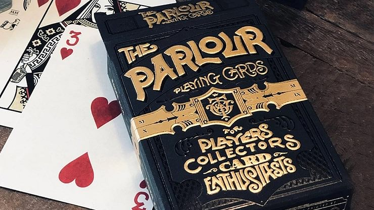 Limited Edition The Parlour Playing Cards - magic