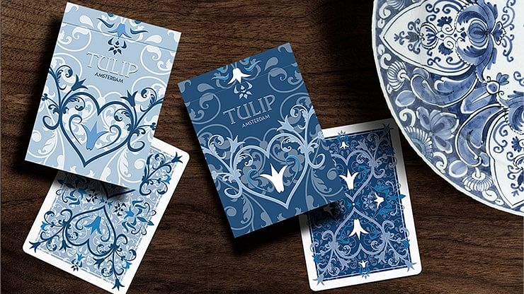 Limited Edition Tulip Playing Cards Set