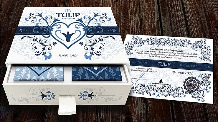 Limited Edition Tulip Playing Cards Set - magic