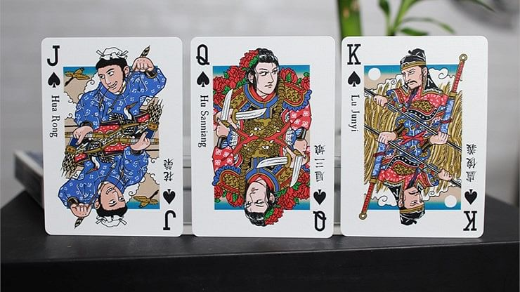 Limited Edition Water Margin Playing Cards