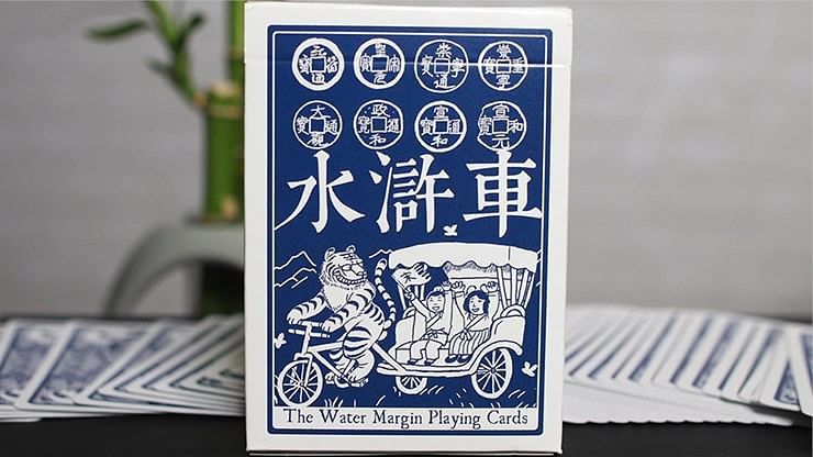 Limited Edition Water Margin Playing Cards - magic