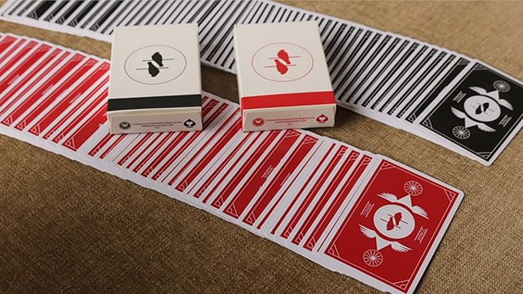 Wings V2 Marked Playing Cards - magic