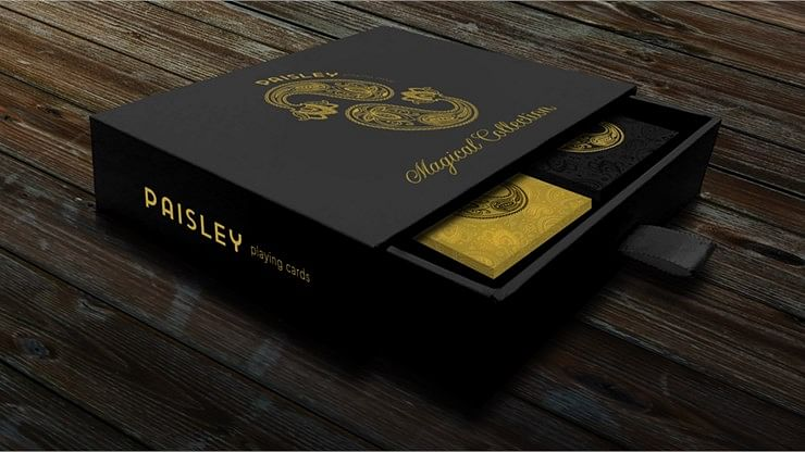 Paisley Magical Playing Cards Collector's Set
