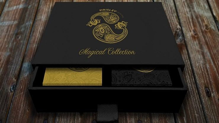 Paisley Magical Playing Cards Collector's Set - magic