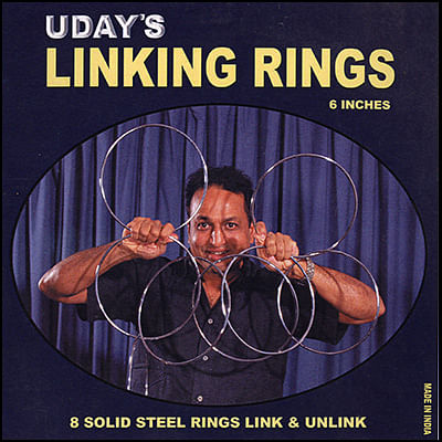 Linking Rings (8 Rings) - magic