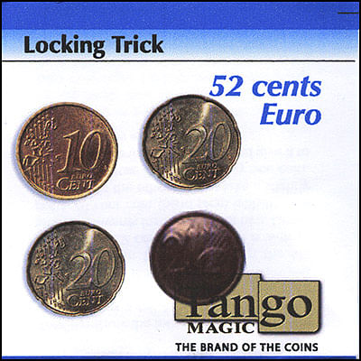 Locking Coins - 52 Euro Cents - magic