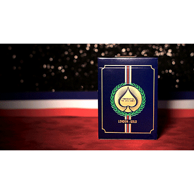 London 2012 Playing Cards (Gold) - magic