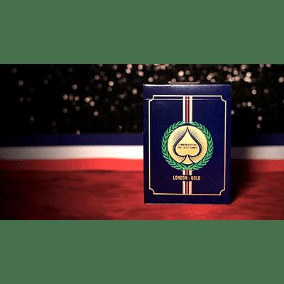 London 2012 Playing Cards (Gold) - magic