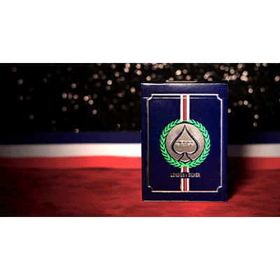 London 2012 Playing Cards (Silver) - magic
