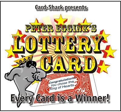 Lottery Card - magic