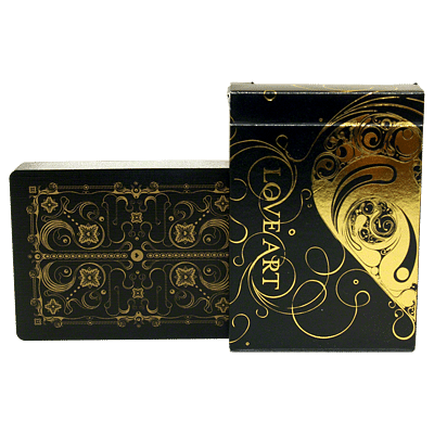 Love Art Deck Deck Limited Edition (Gold) - magic