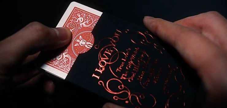 Love Promise of Vow (Red) Playing Cards