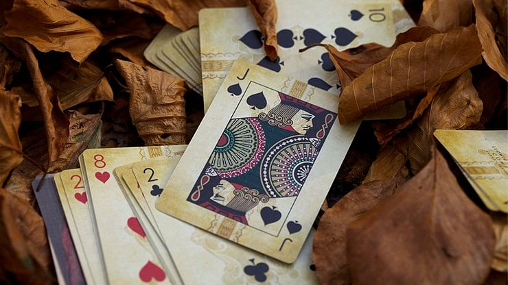 Composers Ludwig Van Beethoven Playing Cards
