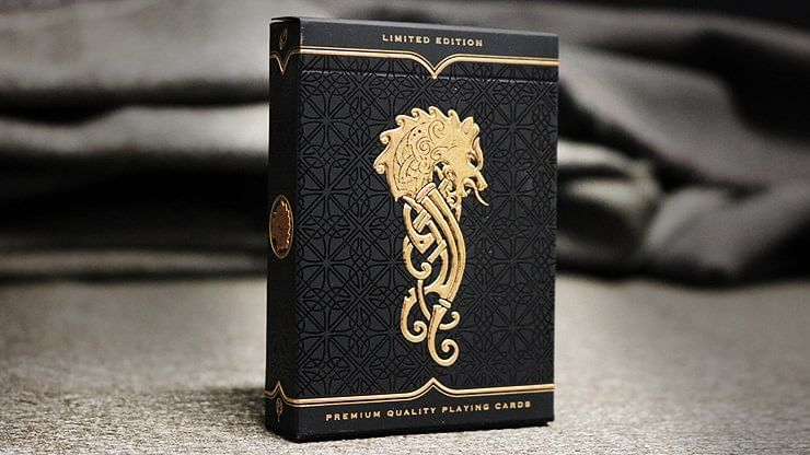 Luminosity (Luxury Gold Gilded) Playing Cards - magic