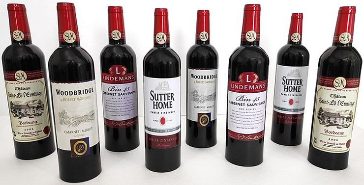 Luxury Multiplying Wine Bottles - magic