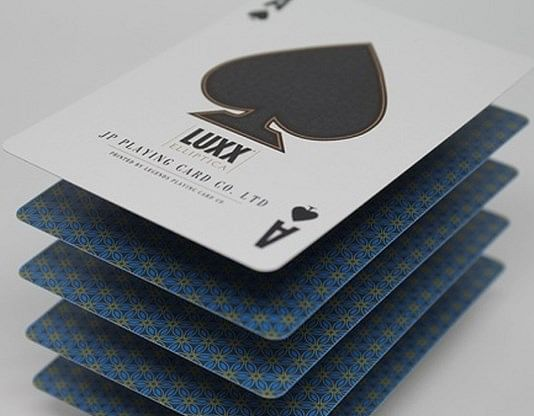 LUXX Elliptica Playing Cards (Blue)